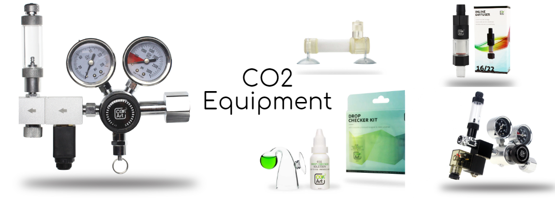 CO2 Equipment and accessories for aquariums